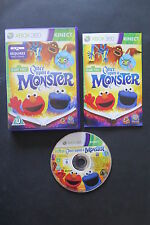 XBOX 360 : SESAME STREET : ONCE UPON A MONSTER - Completo !