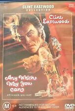 Clint Eastwood Any Which Way You Can Sondra Locke Region 4 DVD VGC