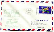 Northeast Airlines First Flight United Nations New York - Nassau Bahamas - 1968