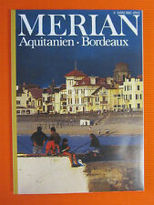 Merian 3/85 Aquitanien Bordeaux Pyrenaen Frankreich Reisen Urlaub Antiquität