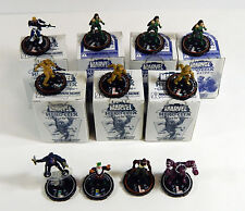11 Assorted Wizkids Heroclix Figures * Clay Quartemain LE in Box Madame Hydra LE