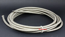 8 AN Braided Stainless Steel Hose Oil Cooler Filter Relocation Return 1500 PSI