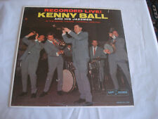 KENNY BALL live! empire theatre liverpool england LP KL 1294 Vinyl 1962 ~SEALED