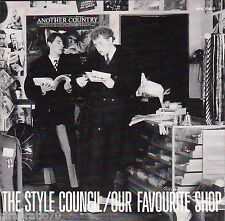 THE STYLE COUNCIL Our Favourite Shop CD - Original 1985 German Polydor Pressing
