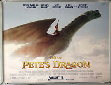 Cinema Poster: PETE'S DRAGON 2016 (Main Quad) Bryce Dallas Howard Robert Redford