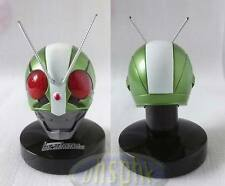 幪面超人1/6 Bandai Kamen Rider Masked Mask Head Collection The First #2 with light stand