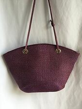Bottega Veneta Intrecciato Woven Rope Vintage Purple Large Tote Bag Leather Lila
