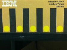 ORIGINALE IBM 02n7221 INFOPRINT COLOR 8 giallo yellow toner 6 a-Ware