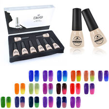 PICK 8 COLOURS Soak Off Gel Nail Polish Thermal Changing-Color Elite99 Gift Set