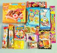 15 PCS SET JAPANESE CANDY Dagashi Lot of candy Kracie popin cookin Donuts Gift