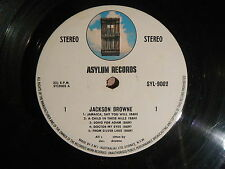 JACKSON BROWN  -  SELF TITLED  LP VINYL RECORD VG CONDITION (NO COVER)