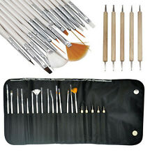 20pcs Nail Art Design Set Dotting Painting Drawing Polish Brush Pen Tools