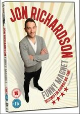Jon Richardson - Funny Magnet (DVD, 2012) Region 2