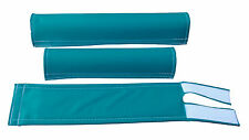 FLITE old school BMX padset foam racing pads BLANK BLANKS *USA MADE* HARO TEAL