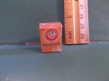 Barbie 1:6 Kitchen Food Baking Miniature Box of Baking Soda