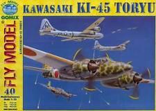 Gomix FLY 040 - japanisches zweisitziges Jagdflugzeug Kawasaki Ki-45 Toryu  1:33