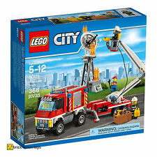 LEGO 60111 CITY Fire Utility Truck and Cherry Picker BRAND NEW AND SEALED