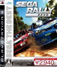 Used PS3 SEGA Rally Revo SONY PLAYSTATION 3 JAPAN JAPANESE IMPORT