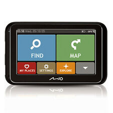 Mio Spirit 4970 4.3 Full Europe Maps IQ Routes GPS Sat Nav Traffic and Parking
