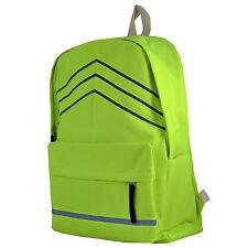 Haute visibilité réfléchissant sac à dos sac à dos sac imperméable cyclisme randonnée trekk