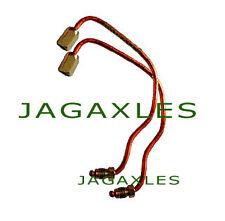 Jaguar FRONT 4 POT CALIPER BRAKE PIPES XJ6 S/2/3 XJS, XJ12 CAC5434 + CAC5435