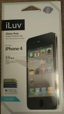 iLuv Glare free screen protector kit iphone 4