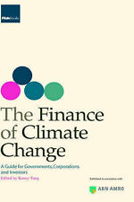 The Finance of Climate Change, Kenny Tang