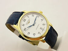 LONGINES MASTER COLLECTION ORO 18 KT L26286 AUTOMATIC CON SCATOLA E FATTURA
