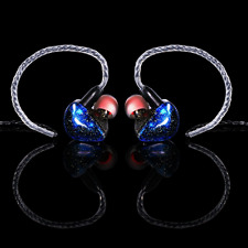 Deep Bass Earphones with Mic, KINDEN In Ear HIFI Monitor Headphones Volume Contr