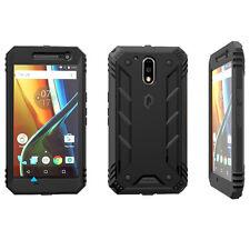 Revolution Shock Absorption & Dust Resistant Case For  Motorola Moto G4 Black