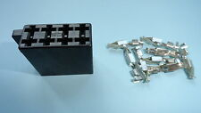 ISO power multiplug female with terminals