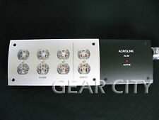 pgs08 8 Outlet US Mains Power Filter Strip Board Distributor 110-250V HiFi