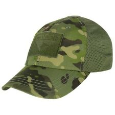 Condor Tactical Mesh Operator SWAT & Military Cap w/ Hook & Loop Multicam Tropic