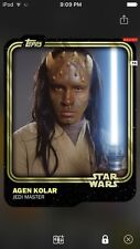 Topps Star Wars Digital Card Trader Gold Agen Kolar Base Variant