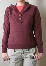 Paul Frank Wooden V Neck Pullover Hoodie (XS) Brown