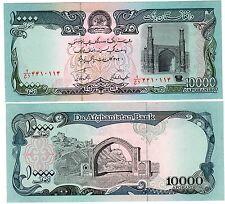 Afghanistan Billet 10000 Afghanis SH. 1372  ( 1993 ) P63 Mosquée UNC Neuf