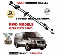 FOR FORD TRANSIT 5 SPEED RWD 2.4 TDCI 2.3 2006-  NEW GEAR CONTROL CABLE 1434708