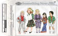 "Sunrise Designs Strictly Kids Stuff Pattern C175 ""Something Now""Fashion Sportswe"