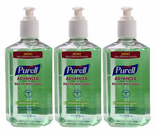 3 Purell Advanced Clean Hand Sanitizer Refreshing Aloe Pump 12 Oz Ex 06/2016