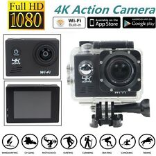 SJ8000 4K 30FPS ULTRA HD Wi-Fi Sports Waterproof Action Camera Sony IMX179 Cam