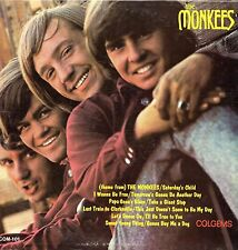 The Monkees Vinyl LP Colgems Records,1966, COM-101, (Mono) Self-titled Debut~ VG