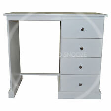 HAND MADE CAMBRIDGE 4 DRAWER DRESSING TABLE (ASSEMBLED)