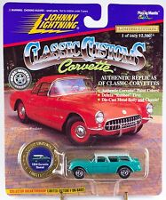 Johnny Lightning Classic Customs 1954 Corvette Nomad 1997 MOC
