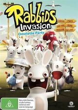 Rabbids Invasion: Omlette Party DVD NEW