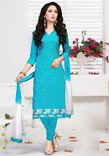 Radiant Cotton Embroidered Salwar Suit Dress Material D.NO JMK3008