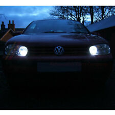 VW GOLF MK4 IV XENON COOL WHITE 8 SMD LED SIDE LIGHT ERROR FREE UPGRADE BULBS
