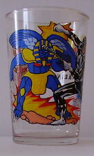 Verre à moutarde glass POWER RANGERS 1994. Black Ranger Zak. VM467