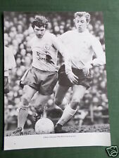 JOHNNY GILES & JOHN MCGOVERN - 1 PAGE PICTURE - CLIPPING /CUTTING