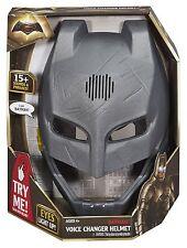 Batman V Superman Dawn Of Justice Batman Voice Changer Helmet Mask NEW DHY31