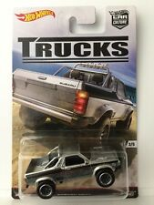 Hot Wheels Car Culture SUBARU BRAT - Silver 2016 Trucks 3/5 w/ Real Riders subi